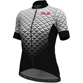 Alé Cycling Solid Hexa SS Jersey Women black-white